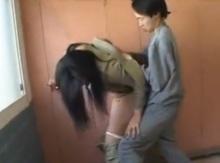 สาวไปเฝ้าผัวที่รพ. โดนไอ้เตี้ยหื่นจับฟัดในห้องน้ำ