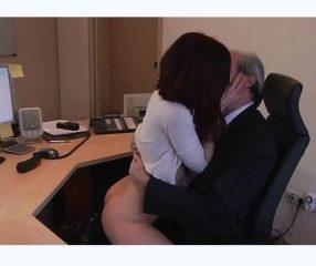 Boss sex สาวยั่วเจ้านายจนโดนx เอาตัวเข้าแลกหวังเลื่อนขั้น