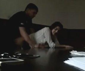 เลขาของบอสสุดsex เคลียร์โต๊ะให้กิ๊กอึ๊บในที่ทำงาน