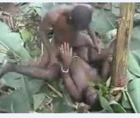 Hard fucking แอบดูคนป่าอึ๊บกันในดงกล้วย สารคดี18+