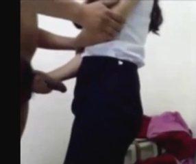 นิสิตไทย18+ ให้แฟนเล่นควยจนโต แล้วจับยัดคาชุดสุดลำ