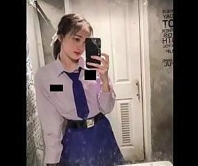 Thai cute girl หลุดน้องดาด้าคุณหนูไฮโซโดนปล่อยคลิป18+