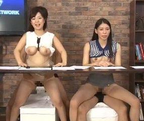 นักข่าวสาวแอบขย่มควยตากล้องตอนรายงานข่าวออกTV