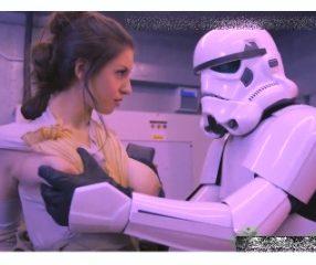 Star Wars XXX สเตลล่า ค็อก โดนสตอร์มทรูปเปอร์จับเย็ดหี18+