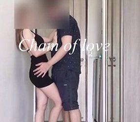 xxxไทย ลองใส่ชุดเซ็กซี่ยั่วพี่ที่ดูแลหอจนโดนเย็ดจริง