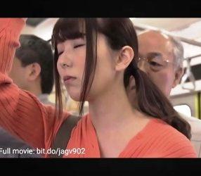 Yui Hatano สาวสวยโดนชายแก่ลวนลามขืนใจบนรถไฟฟ้า